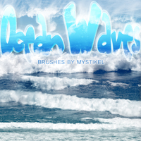 Ocean Waves Themed 2D And/Or Merchant Resources mystikel