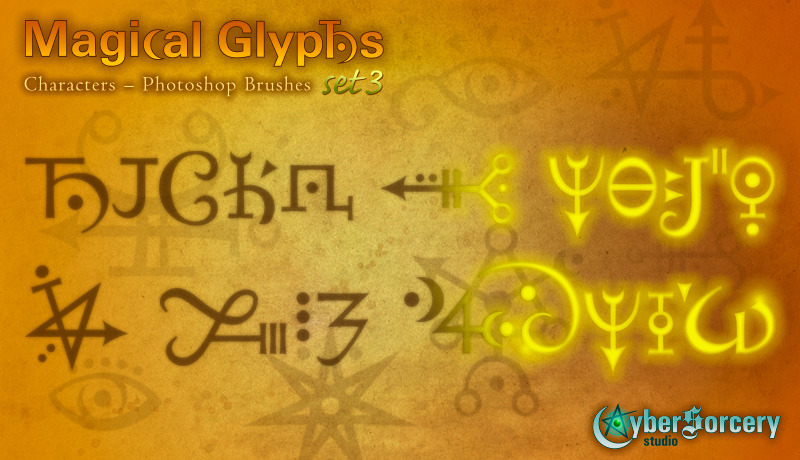 Magical Glyphs - Characters 3