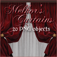 Melkors Curtains 2D And/Or Merchant Resources -Melkor-