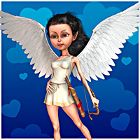 Cupid Girl for Mavka 3D Figure Essentials smay