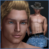 HRD-Aiden for M4 3D Figure Assets HeRaZa