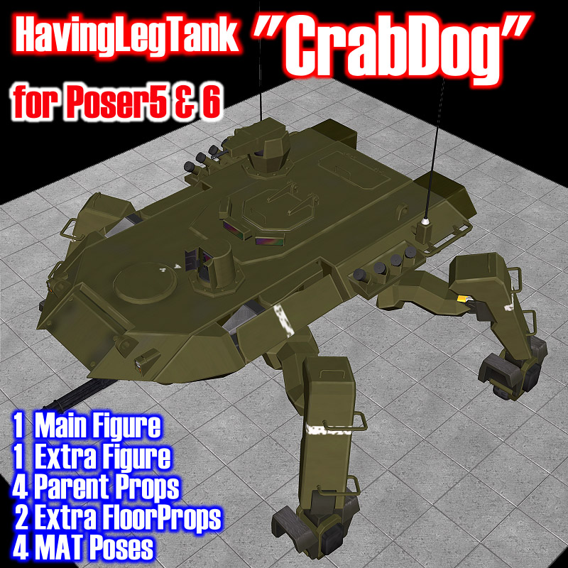 MKT Having Leg Tank CrabDog
