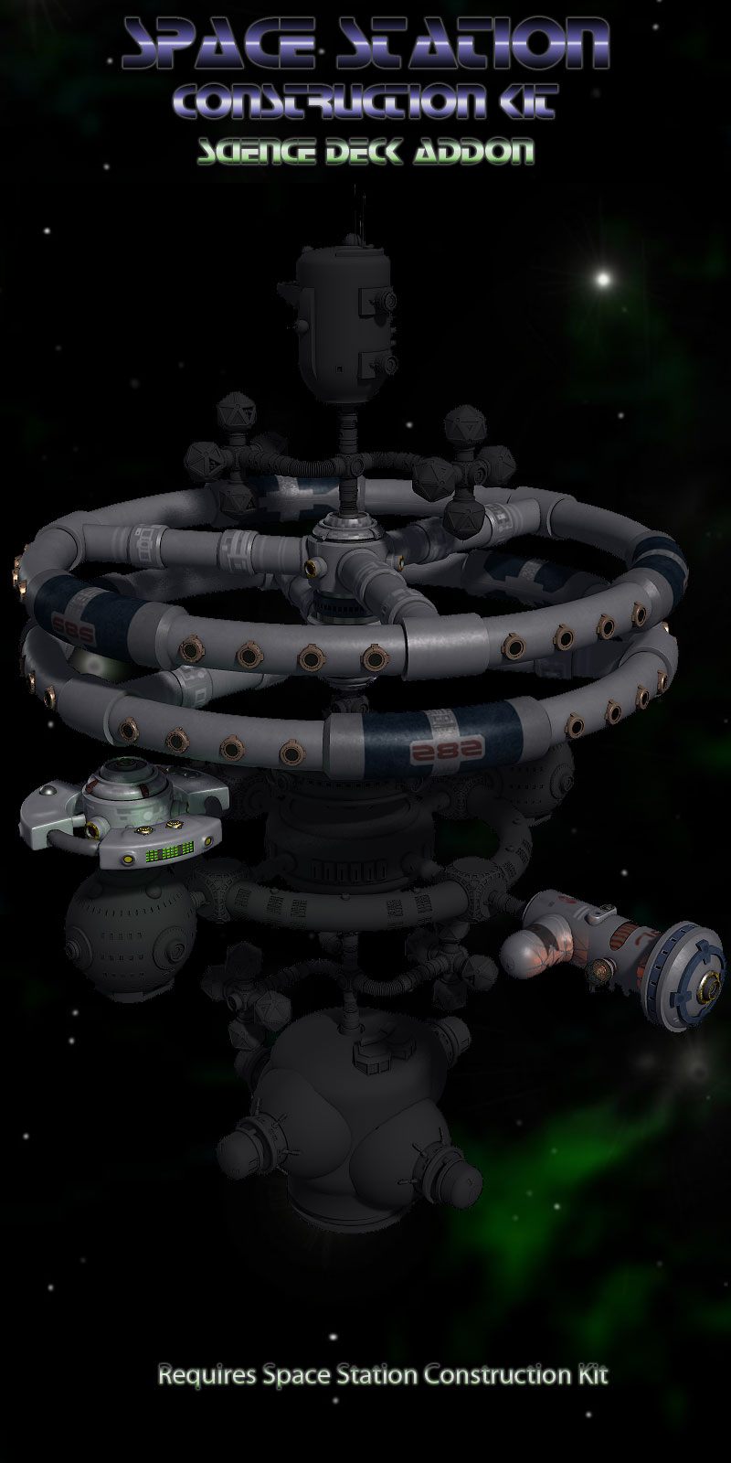 Science Deck for Space Station Construction Kit