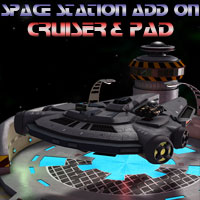 Cruiser for Space Station Construction Kit 3D Models Simon-3D