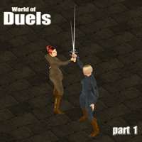 World of Duels - part 1 3D Figure Assets 3D Models PainMD