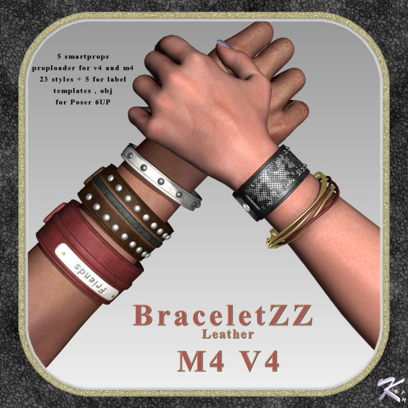 BraceletZZ Leather