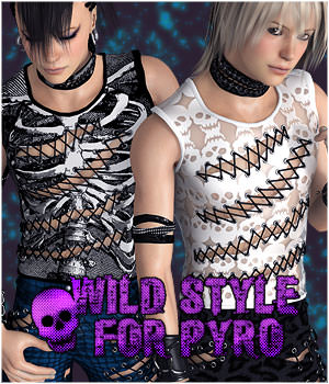Wild Style for Pyro 3D Figure Essentials fu-minn