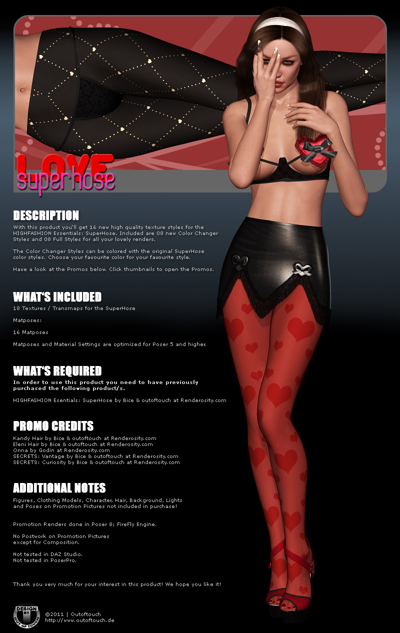 LOVE SuperHose by outoftouch