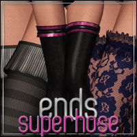 HFE SuperHose Ends Clothing Themed outoftouch