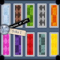 Colours Of Life - Silks I  Valerian70