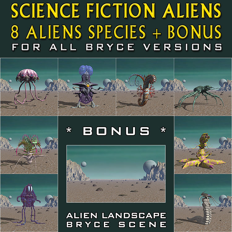 Science Fiction Aliens