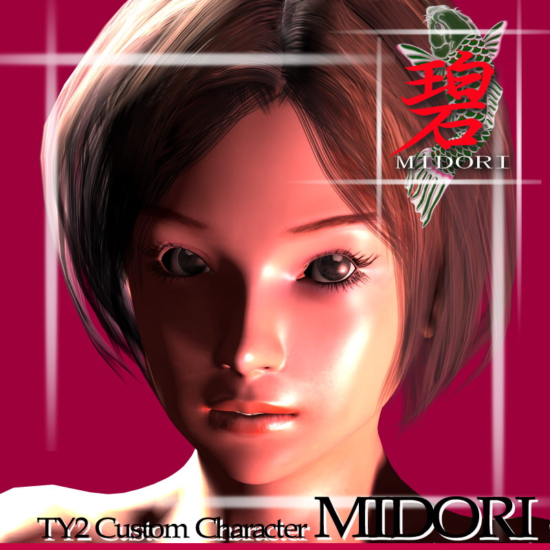 TY2 Custom Character Midori by billy-t
