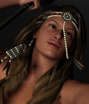 Tribal Outfit 3D Models 3D Figure Essentials ile-avalon