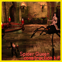Spider Queen Construction Kit Props/Scenes/Architecture ironman13