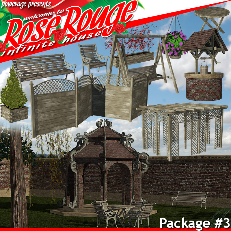 Rose Rouge Pack 3