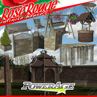 Rose Rouge Pack 3 3D Models powerage