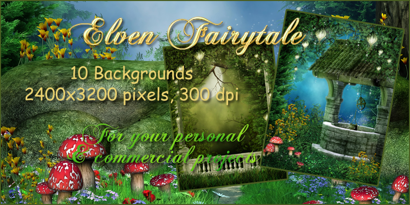 Elven Fairytale Backgrounds