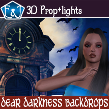 Dear Darkness Backdrops 2D Graphics EmmaAndJordi
