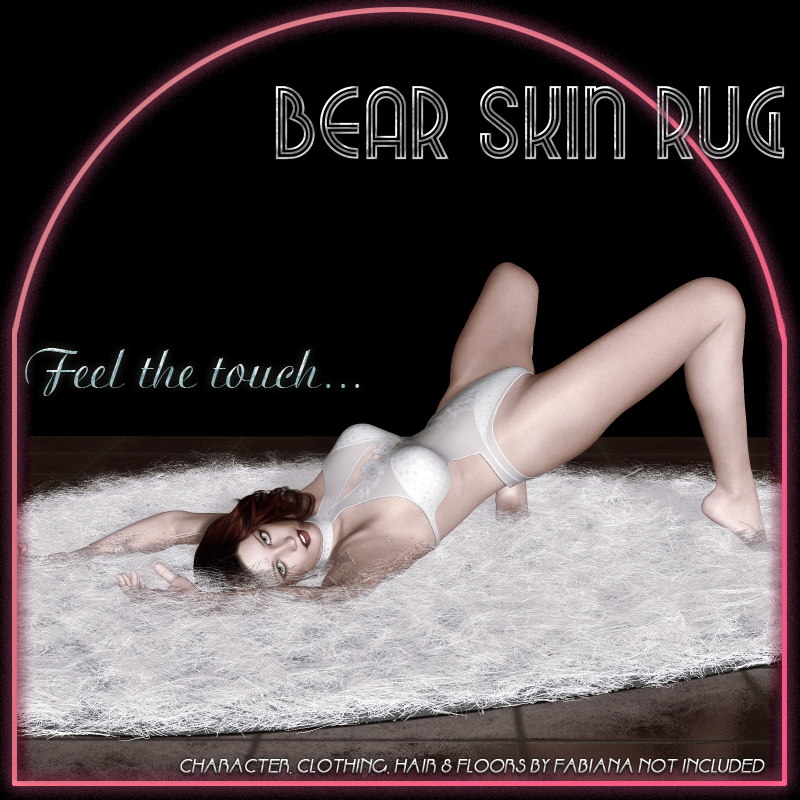 Feel the Touch - Bear Skin Rug