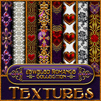 Jeweled Romance Collection - TEXTURES Themed 2D And/Or Merchant Resources fractalartist01
