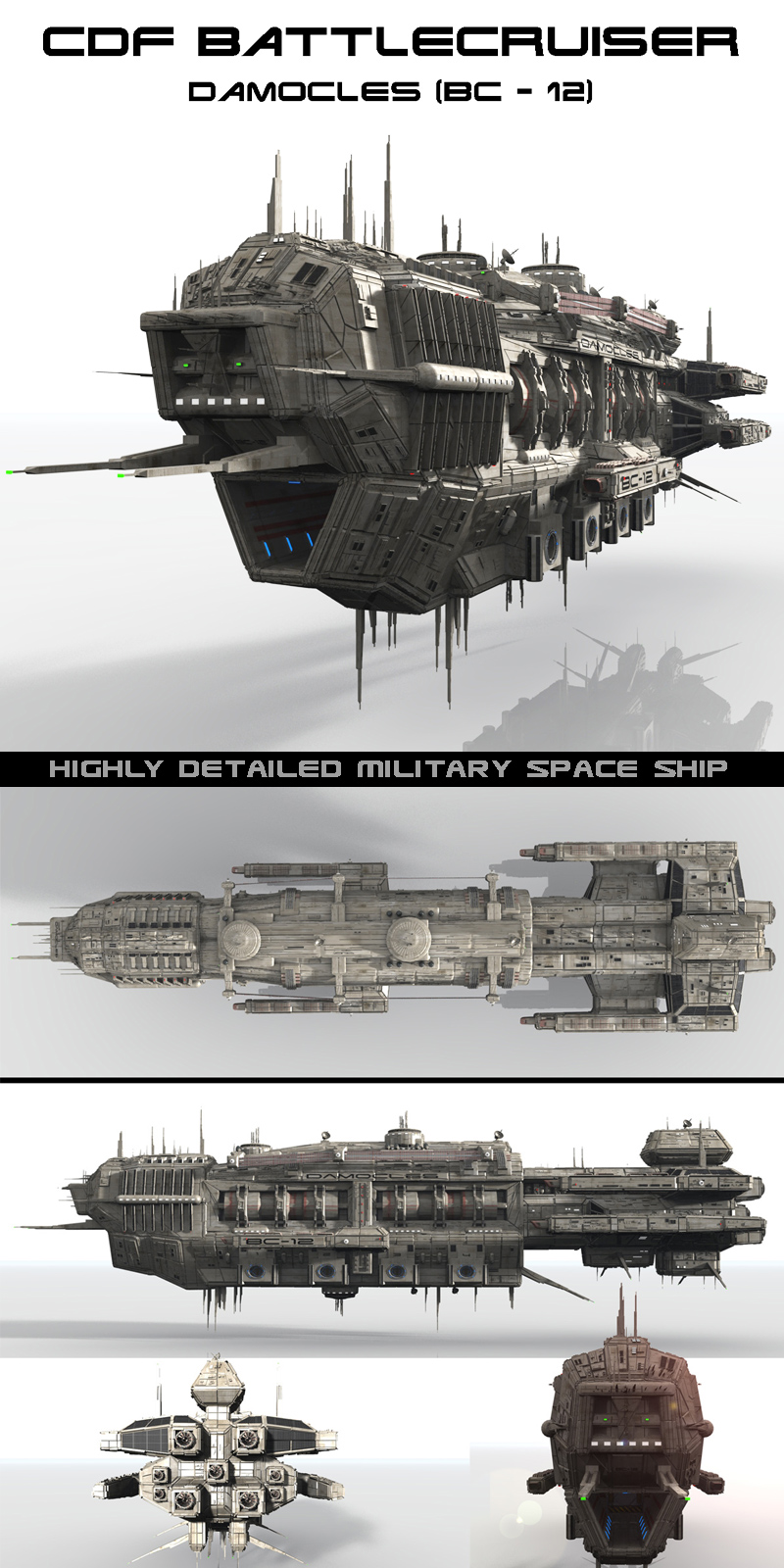 CDF Damocles - Battlecruiser