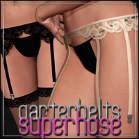 HFE SuperHose Garterbelts & Straps by Bice