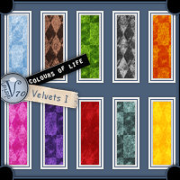 Colours Of Life - Velvets I  Valerian70