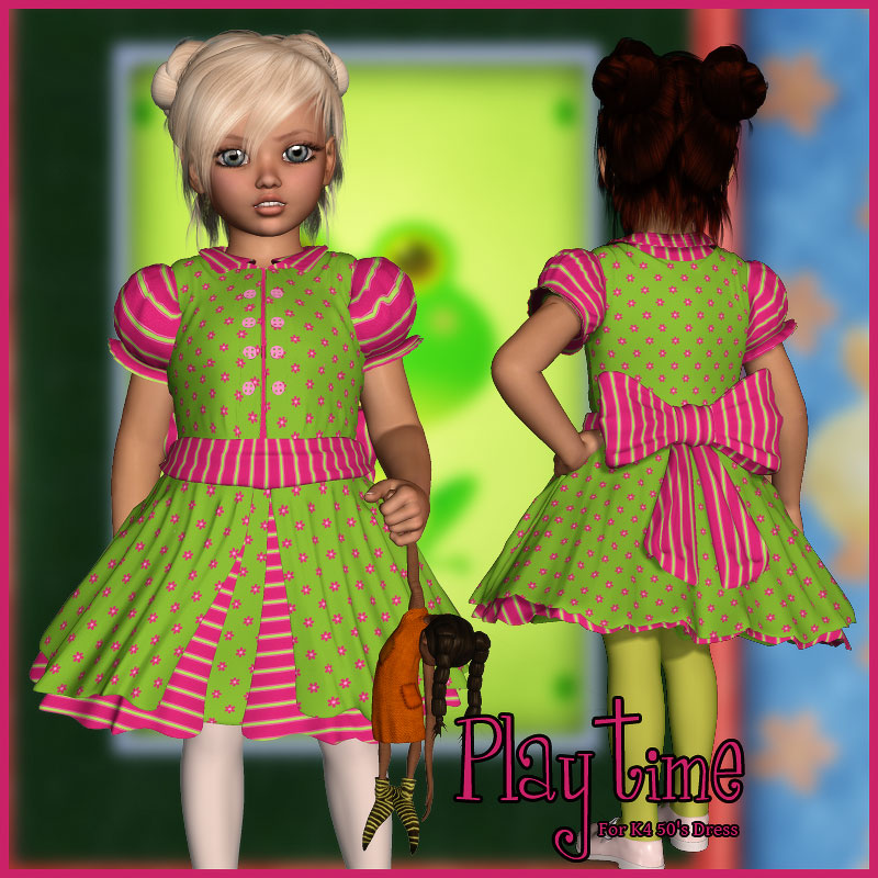 Playtime for K4 50s Dress
