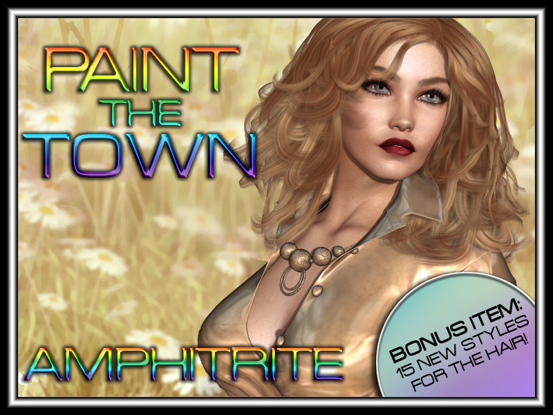 Paint the Town - Amphitrite by vyktohria