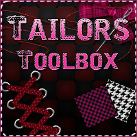 Merchant Resource: Tailor's Toolbox 01 2D Graphics Merchant Resources Sveva