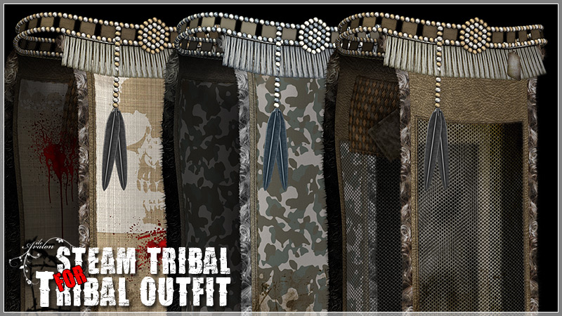 Steam Tribal for Tribal Outfit by ile-avalon