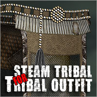 Steam Tribal for Tribal Outfit by ile-avalon Clothing Themed ile-avalon