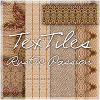 TexTiles - Rustic Passion 2D And/Or Merchant Resources Holly
