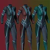 Slide3D Cyber Skin 2.0 for S3D Body Suit image 1