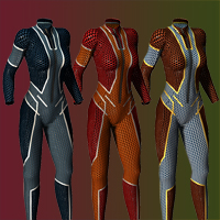 Slide3D Cyber Skin 2.0 for S3D Body Suit image 2