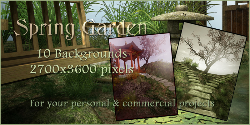 Spring Garden Backgrounds