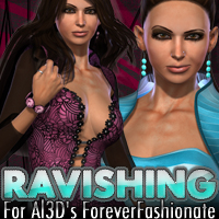 Ravishing for Al3D's ForeverFashionate  fratast