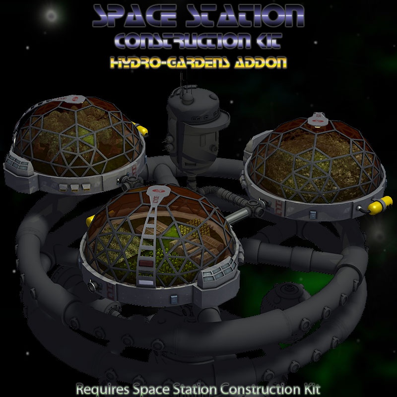 Hydro Garden for Space Station Construction Kit 3D Models Simon 3D