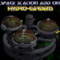 Hydro-Garden for Space Station Construction Kit Props/Scenes/Architecture Transportation Themed Simon-3D