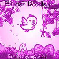 Easter Doodles 3D Models 2D Graphics mystikel