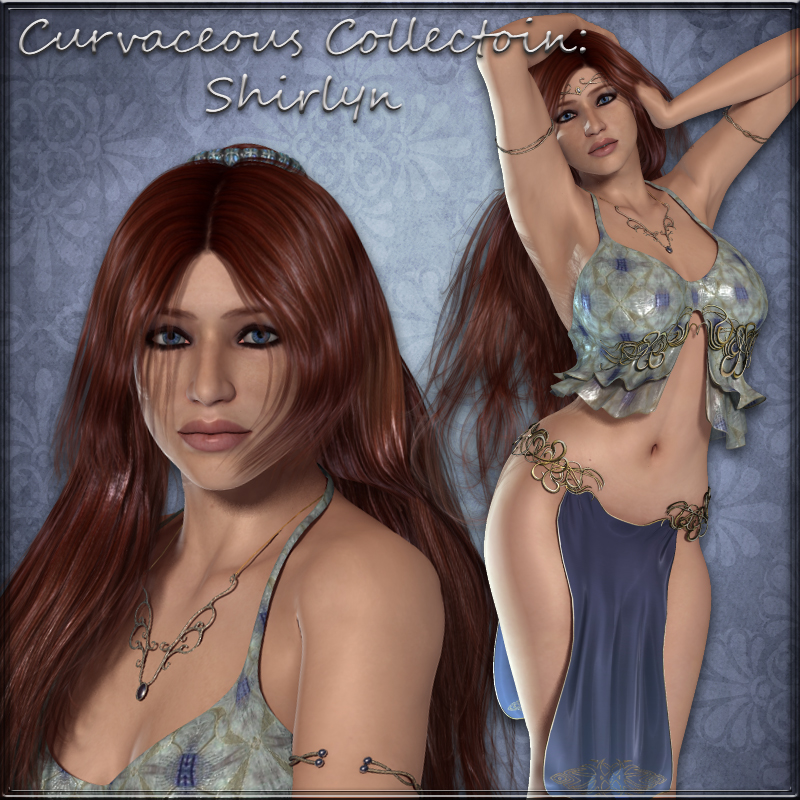 Curvaceous Collection:  Shirlyn for V4