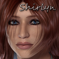 Curvaceous Collection:  Shirlyn for V4 Characters kittystavern