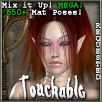 Touchable School Hair Themed Hair -Wolfie-