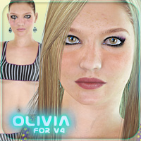 Olivia for V4 3D Figure Essentials _Fenrissa_