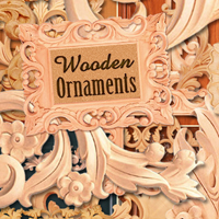 Wooden Ornaments 2D And/Or Merchant Resources Atenais