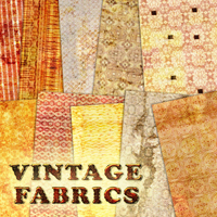 Vintage Fabrics 2D And/Or Merchant Resources Atenais