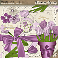 Macatelier's Paper Boutique: Blooming Spring  macatelier
