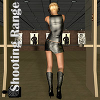 Shooting Range For Poser 3D Models Richabri
