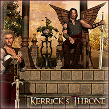 DM's Kerricks Throne Props/Scenes/Architecture Poses/Expressions Software Themed Danie