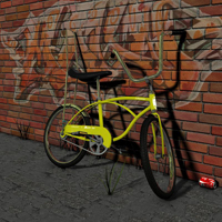 1960 s Bicycle for Poser 3D Models BionicRooster